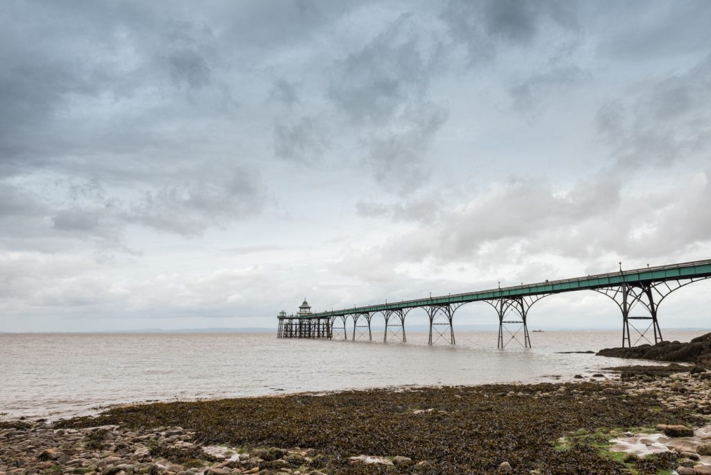 Clevedon Pier, North Somerset. Photo by Documentary image
